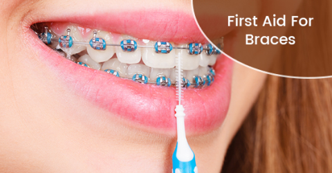 First Aid For Braces